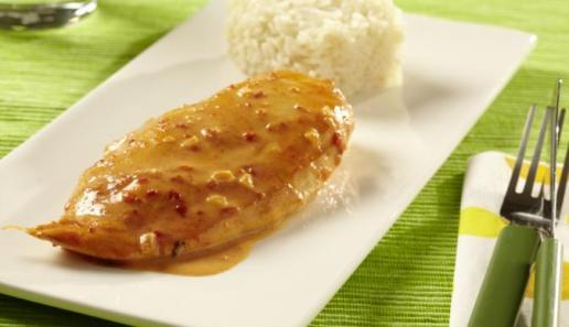 MAGGI fix & frisch Paprika-Sahne-Hähnchen