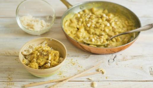 Curry-Hähnchen-Geschnetzeltes