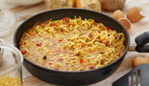 Nudel-Omelette