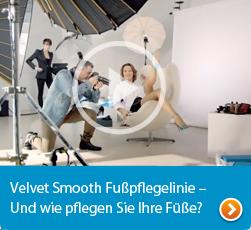 Velvet Smooth Fußpflegelinie - und wie pflegen Sie Ihre Füße?