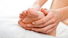 Individuelle Fußpflegeroutine