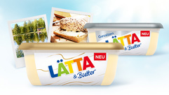 Die neue Lätta mit Butter
