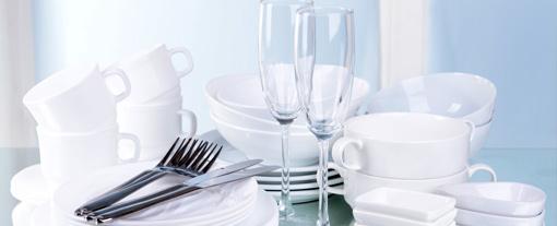 Gläser, Geschirr & Kannen