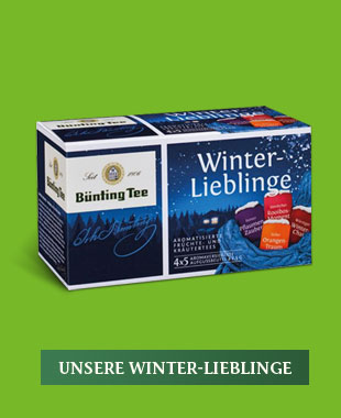 Unsere Winter-Lieblinge von Bünting Tee