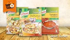 Knorr Suppenliebe Vorteilskauf: Kaufe 4 zahle 3