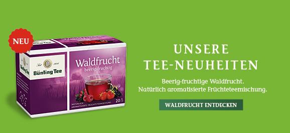 Bünting Waldfrucht Tee (20 x 2,25 g)