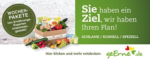 Entdecken Sie unseren Partner geerne.de, mit Liebe zusammengestellte Lebensmittel-Boxen.