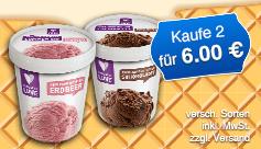 Angebot: Kaufen Sie 2 Made with Luve Lupinen Eis und zahlen nur 6 Euro, zzgl. Versand, inkl. MwSt. - zum Bestellen hier klicken.