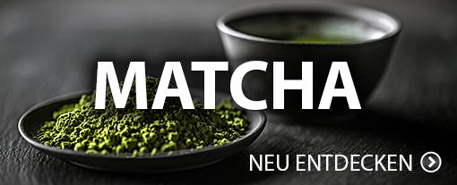 Matcha, das grüne Wunderpulver aus Japan. Entdecken Sie die Vielfalt von Matcha.