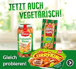 Meica - Jetzt auch vegetarisch