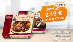 Angebot: Lambertz Gebäckmischung, 500g, Streichpreis ab 2,49 Euro, Angebotspreis ab 2,19 Euro, zzgl. Versand, inkl. MwSt. - zum Bestellen hier klicken.