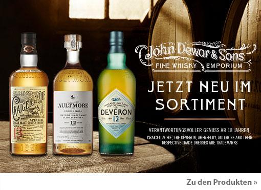 Dewars 12J Blended Scotch und Single Malts Aktivierung