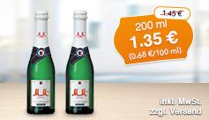 Angebot: MM'chen Extra Sekt 1er Geschenkpackung, Streichpreis 1,45 Euro, Angebotspreis 1,35 Euro., inkl. Mehrwertsteuer, zzgl. Versand.