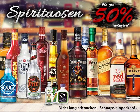 Angebot: bis zu 50% auf Spirituosen - zum Bestellen hier klicken.