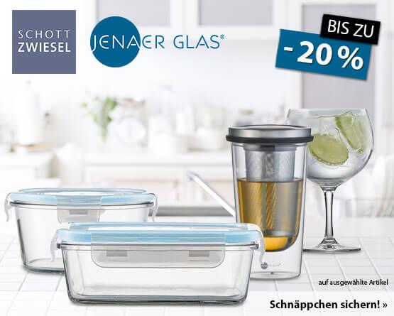 Angebot: Bis zu 20% auf Glas Artikel von Schott Zwiesel und Jenaer - zum Bestellen hier klicken.