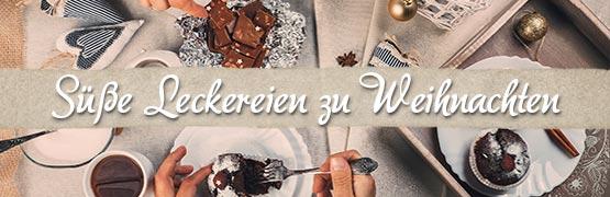 Thema der Woche: Wir lieben süße Leckereien zu Weihnachten - für leckere Rezepte und Produkte hier klicken.