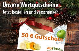 Unsere myTime Wertgutscheine, das perfekte Geschenk für Weihnachten - zum Bestellen hier klicken.