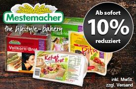Angebot: 10% Auf Mestemacher-Produkte - zum Bestellen hier klicken.