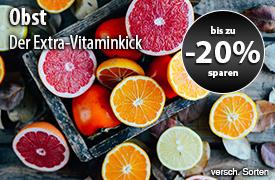 Angebot: Bis zu 20% auf Obst - zum Bestellen hier klicken.