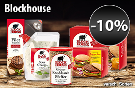 Angebot: 10% auf Blockhouse - zum Bestellen hier klicken.