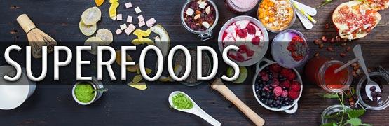 Thema der Woche: Superfoods und Erkältungszeit - für leckere Produkte hier klicken.