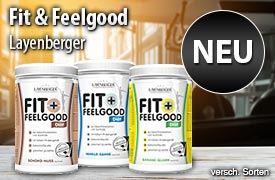 Neu: Layenberger Fit & Feelgood und LowCarb.one - zum Bestellen hier klicken
