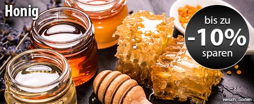 Angebot: Bis zu 10% auf Honig
