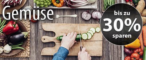 Angebot: bis zu 30 Prozent beim Kauf von Gemüse sparen