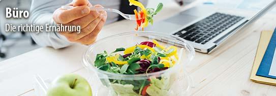 Tipps für's Büro - Das Büro ist der ideale Ort für kleine, gesunde Zwischenmahlzeiten.
