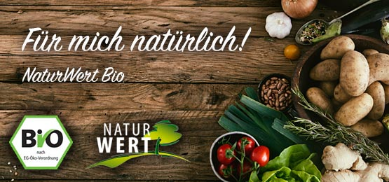 Entdecken Sie jetzt die alles rund um die Marke NaturWert!