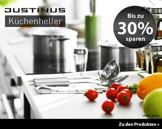 Angebot: Bis zu 30% auf Justinus Küchenhelfer - zum Bestellen hier klicken.