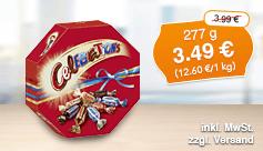 Angebot: Celebrations, 277g, Streichpreis 3,99 Euro, Angebotspreis 3,49 Euro, zzgl. Versand, inkl. Mwst. - zum Bestellen hier klicken.