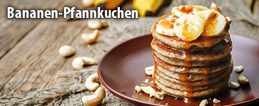 Vegane Bananen Pfannkuchen