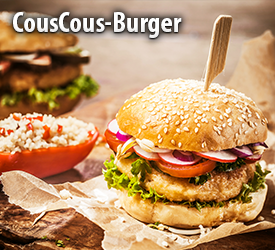 Couscous Burger
