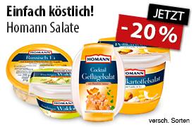 Angebot: 20% Rabatt auf Homann Salate - zum Bestellen hier klicken!