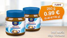 Angebot: Krüger Kaffeeweißer laktosefrei (250 g), Streichpreis: 1,29 Euro, Angebotspreis: 0,99 Euro, inkl. MwSt., zzgl. Versand - zum Bestellen hier klicken.