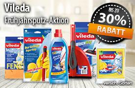 Vorteilskauf: bis zu 30 Prozent auf Vileda - zum Bestellen hier klicken