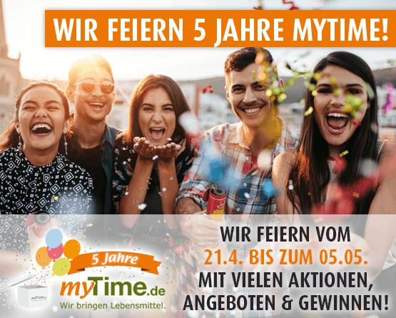 5 Jahre myTime.de - zum Bestellen hier klicken!