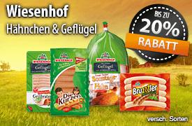 Angebot: Bis zu 20% Rabatt auf Wiesenhof Artikel - zum Bestellen hier klicken!