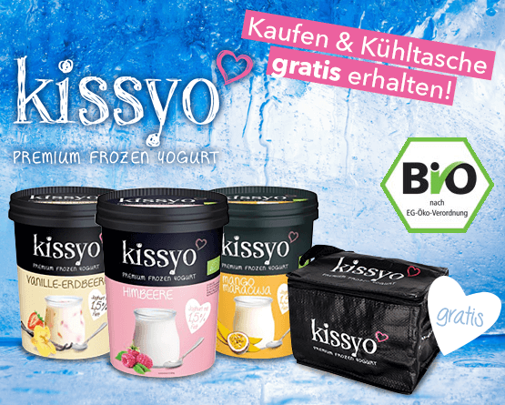 Vorteilskauf: Einen Kissyoartikel kaufen und eine Kueltasche gratis erhalten - zum Bestellen hier klicken!