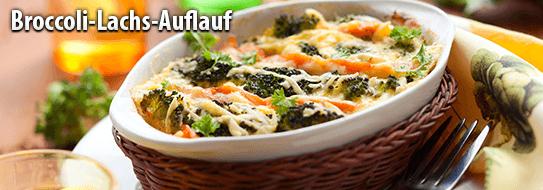 Rezeptempfehlung für Sie: Broccoli-Lachs-Auflauf - zum Bestellen hier klicken!