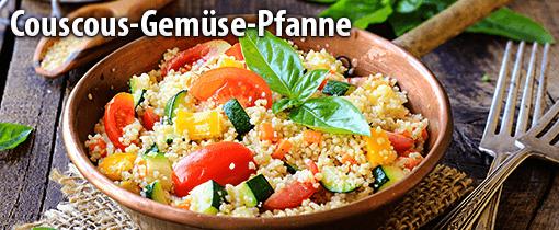 Couscous-Gemüse-Pfanne mit Harissa