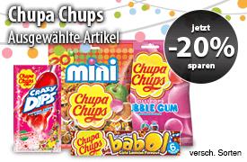20% Rabatt auf ausgewählte Chupa Chups - zum Bestellen hier klicken