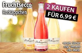 Rotkäppchen Fruchtsecco: Kaufe 2 zahle 6,99 Euro - zum Bestellen hier klicken!
