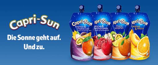 Capri-Sun: Die Sonne geht auf. Und zu.