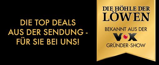 Die Top Deals aus der Sendung die Höhle der Löwen - für Sie bei uns!