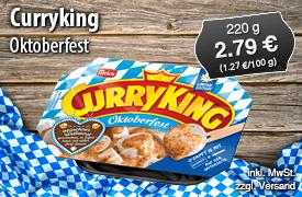 Meica Curryking Oktoberfest, 220g, 2,79 Euro, inkl. MwSt., zzgl. Versand - zum Bestellen hier klicken!