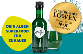 Helga Algen-Power-Drink, 250ml, 2,99 Euro, zzgl. Pfand, inkl. MwSt., zzgl. Versand - zum Bestellen hier klicken