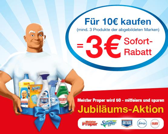 Kaufen Sie aus der vorliegenden Kategorie Produkte im Wert von 10 Euro und Sie erhalten 3 Euro Sofortrabatt - zum Bestellen hier klicken