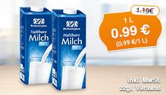 Angebot: Weihenstephan Haltbare Milch 1,5% für 0,99 Euro, 1L, Streichpreis 1,29 Euro, inkl. MwSt., zzgl. Versand - zum Bestellen hier klicken.
